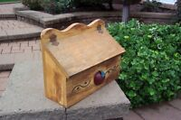 Handcrafted Wooden Mailbox