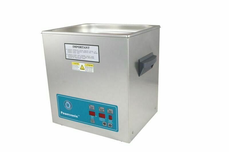 Crest Powersonic Ultrasonic Cleaner 3.25 G Digital Heat & PC