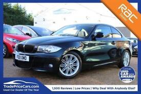 2011 11 BMW 1 SERIES 2.0 120D M SPORT 2D AUTO 175 BHP DIESEL