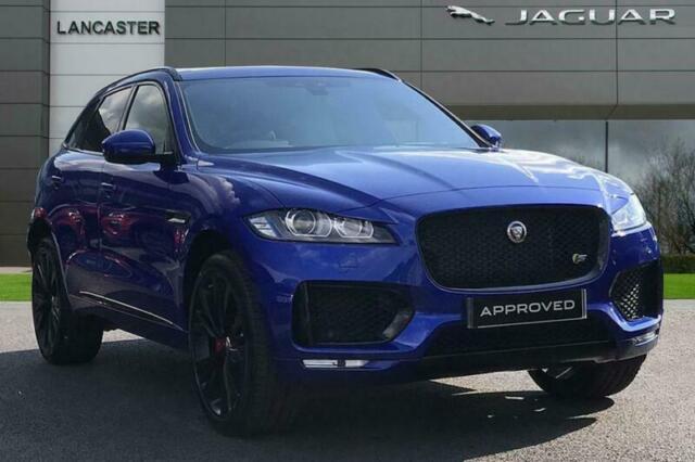 2019 Jaguar F Pace S Awd Diesel Blue Automatic In Slough Berkshire Gumtree