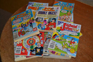LARGE BOX 131 vintage 1980's Archie DIGEST Books $95 takes LOT! Windsor Region Ontario image 2