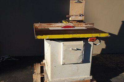 Tannewitz Table Saw - Type Xj Woodworking Machinery