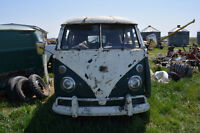 Early VW bus/parts wanted.