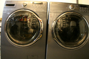 Samsumg front load washer and dryer pair