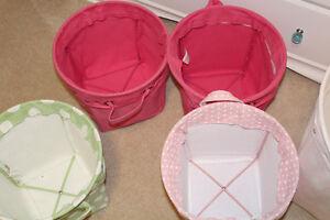Pottery Barn Kids Canvas Storage Buckets - $30, $20 Belleville Belleville Area image 8