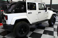 2014 JEEP WRANGLER UNLIMITED LIFTED BRAND NEW RIM/TIRE/LED LIGHT