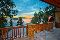 Magnificent home set for private viewing pleasure of San Juans!
