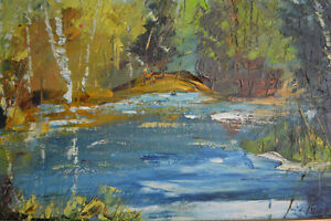 LARGE FERNAND LABELLE OIL PAINTING 20 X 24 inches SIGNED Gatineau Ottawa / Gatineau Area image 3