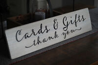 Custom Wedding Signage & Elegant Decor