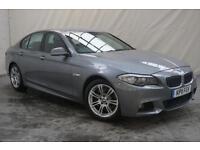 2011 11 BMW 5 SERIES 3.0 525D M SPORT 4D AUTO 202 BHP DIESEL