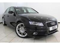 2010 10 AUDI A4 2.0 TDI S LINE SPECIAL EDITION 4DR 141 BHP DIESEL