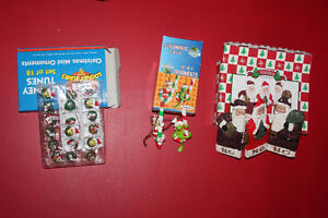 Assortment of Christmas Items