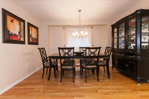 GREAT QUALITY FORMAL DINING ROOM SET (3 pieces)