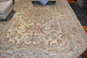 Set of Two Almost Identical   Hand Made Persian Rugs