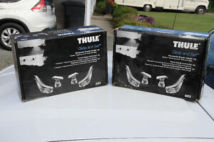 TWO THULE GLIDE and SETS  for kayak's