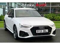2021 Audi A4 Black Edition 40 TFSI 204 PS S tronic Auto Saloon Petrol Automatic