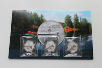 Three (3) - 2011 $20 Canoe - Royal Canadian Mint - RCM