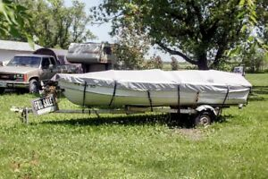1970s Starcraft 16ft Aluminum Fishing Boat