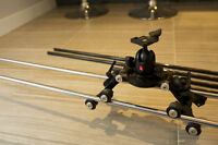 Mint Condition: Carbon & Stainless Steel Video Camera Slider