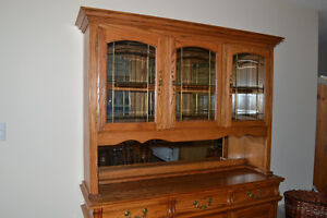 Buffet and Hutch For Sale Prince George British Columbia image 3