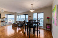 2 BEDROOM, RIVER VIEW, 1000+ SQ FT LUXURY DOWNTOWN CONDO