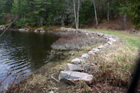 OVER 3 ACRES WATERRONT ON FRENCH RIVER!