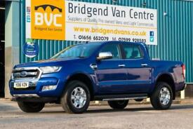 2016 Ford Ranger LIMITED 4X4 DOUBLECAB 2.2 TDCI 150 BHP DIESEL 6 SPEED MANUAL PI