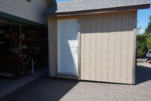 8 by 10 ft. Storage Shed