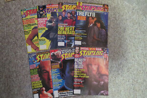 Starlog Magazines 7 assorted from the late 80's asking $10 OBO
