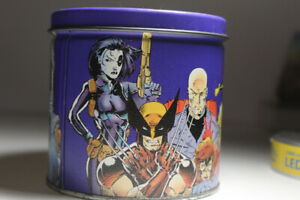 1992 Impel Uncanny X-Men Limited Edition Tin and Cards