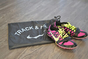 Nike Track Spikes- 2 pairs (1 multi use, 1 sprint)