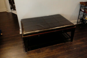 Coffee Table, Ottoman and End Table