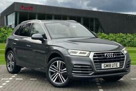 image for 2018 Audi Q5 S line 2.0 TFSI quattro 252 PS S tronic Auto Estate Petrol Automati