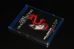 BLU RAY-THE GIRL WITH THE DRAGON TATOO-FILM/MOVIE (NEUF/NEW)