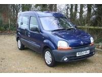 Wheel Chair Adapted Renault Kangoo done 61854 Miles with FULL SERVICE HISTORY