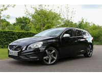 2011 Volvo V60 2.0D D3 ( 163bhp ) Geartronic R-Design 2 YEAR WARRANTY FREE