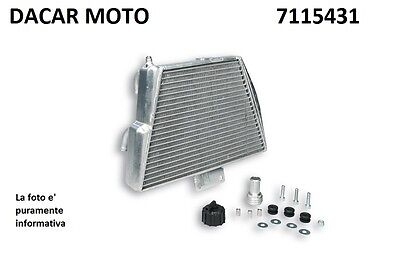 Radiator MHR Team Piaggio Zip Sp 50 2T LC 2001 > MALOSSI 7115431