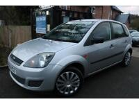 2006 Ford Fiesta Style 1.25 075 Silver 5 Door FULL FORD SERVICE HISTORY