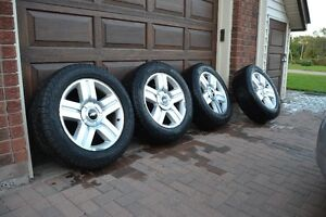 6 bolt Chevy OEM rims and tires off of Silverado 1500