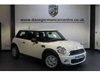 2013 63 MINI HATCH FIRST 1.6 FIRST 3DR 75 BHP