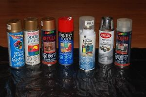 Spray Paint, Full Cans for Crafters etc.