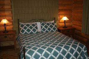 Spa and sauna at a cottage for rent chalet for rent St Sauveur Gatineau Ottawa / Gatineau Area image 3