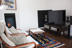 Newly renovated apartment, available May on a 4 month commitment