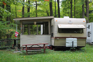 1986 Prowler Regal 29' trailer, Attention Hunters!