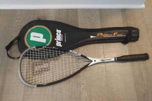 Prince PowerFan Storm Ti Squash Racquet (lightly used)