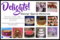 Delicious Cakes, Cupcakes and Cookies!
