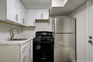 Brand New 1 bedroom Basement Apartment in Prime Location