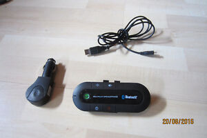 Kit mains libres pour auto / Car hands-free speaker phone
