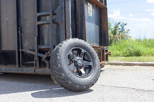 Lightly Used Wheel And Tire Package For Tacomas