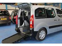 Peugeot Partner Wheelchair accessible vehicles mobility disabled car petrol wav